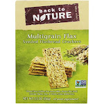 Back To Nature Seeded Flatbread Crackers Multigrain Flax 5.5 oz.
