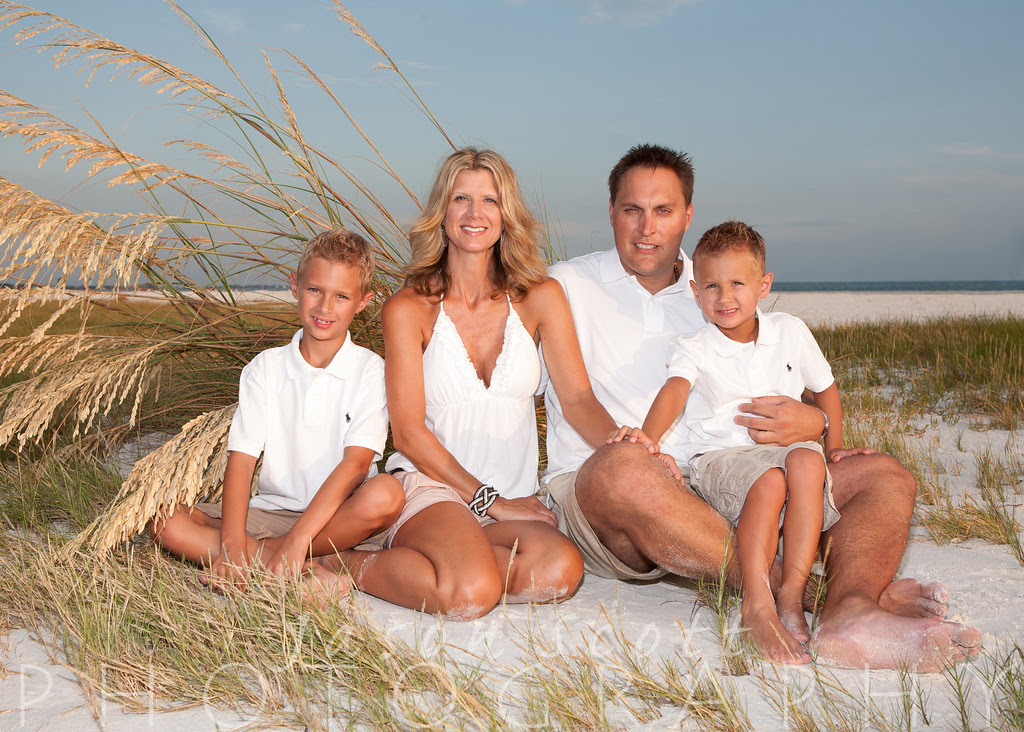 Brungardt Family on Siesta Key, July 2012