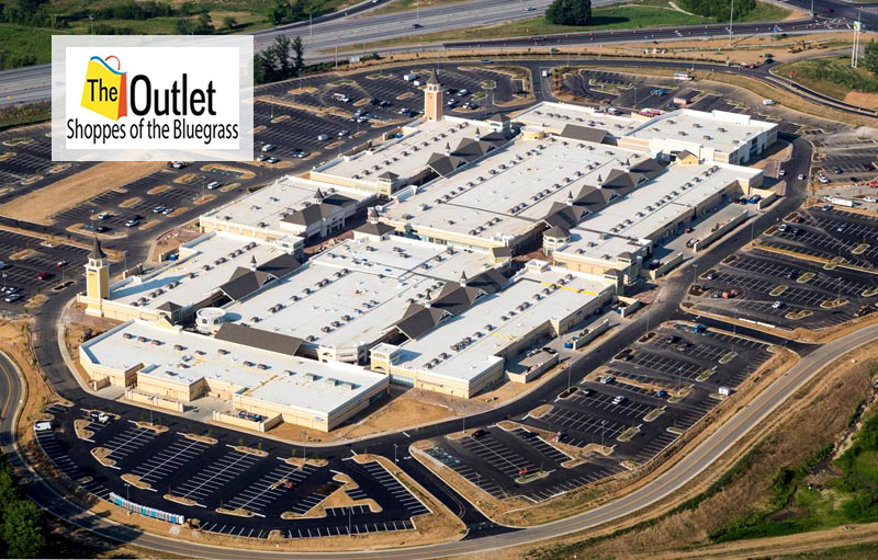 The Outlet Shoppes of the Bluegrass is located in Simpsonville, Kentucky and offers 95 stores - Scroll down for The Outlet Shoppes of the Bluegrass outlet shopping information: store list, locations, outlet mall hours, contact and address.3/5(2).