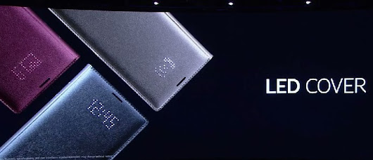 Samsung Galaxy Note 4 gets an LED flip cover accessory