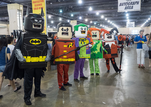 Cosplaytopia — Lego Heroes Photo by Mark J. Stein