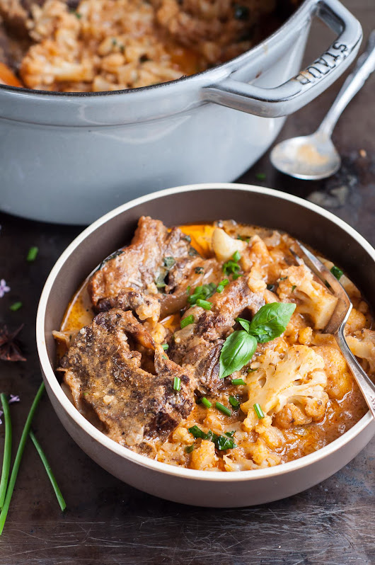 Cauliflower and Braising Ribs Curry - GastroSenses