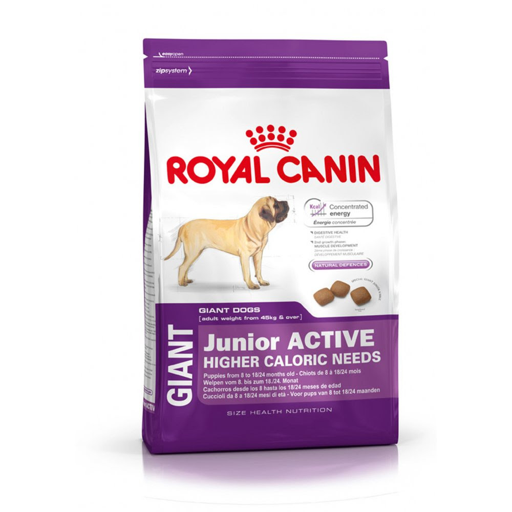Royal Canin Giant Junior Active Dog Food 15kg | Feedem