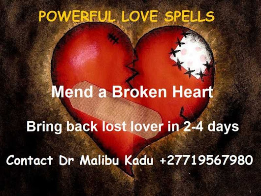 Brings back lost lover with Sandawana Oil @ +27719567980