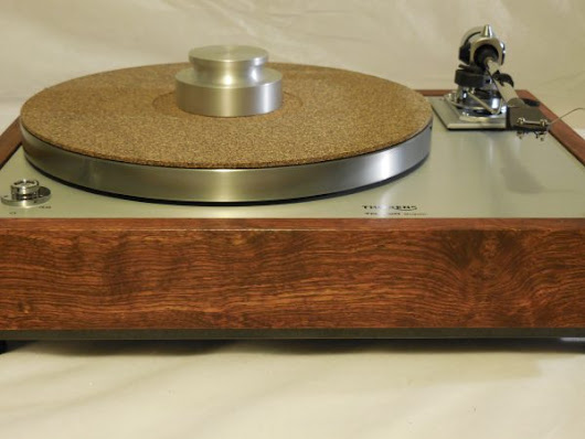 The Ultra ~ Thorens TD-160 Super Reproduction, new SME M2-9 arm, custom Caribbean Rosewood plinth, Origin Live Ultra Motor, full mods - AR Turntable Vinyl Nirvana Acoustic Research Merrill Thorens TD 160 For Sale