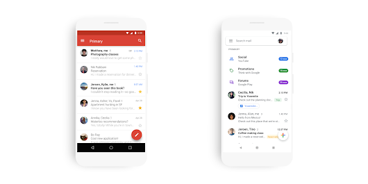 [Update: Widely available] Gmail for Android revamped with Google Material Theme