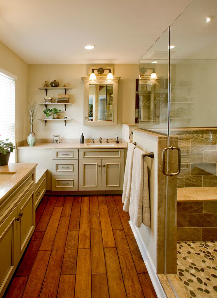 Rustic Bathrooms Designs & Remodeling | HTRenovations