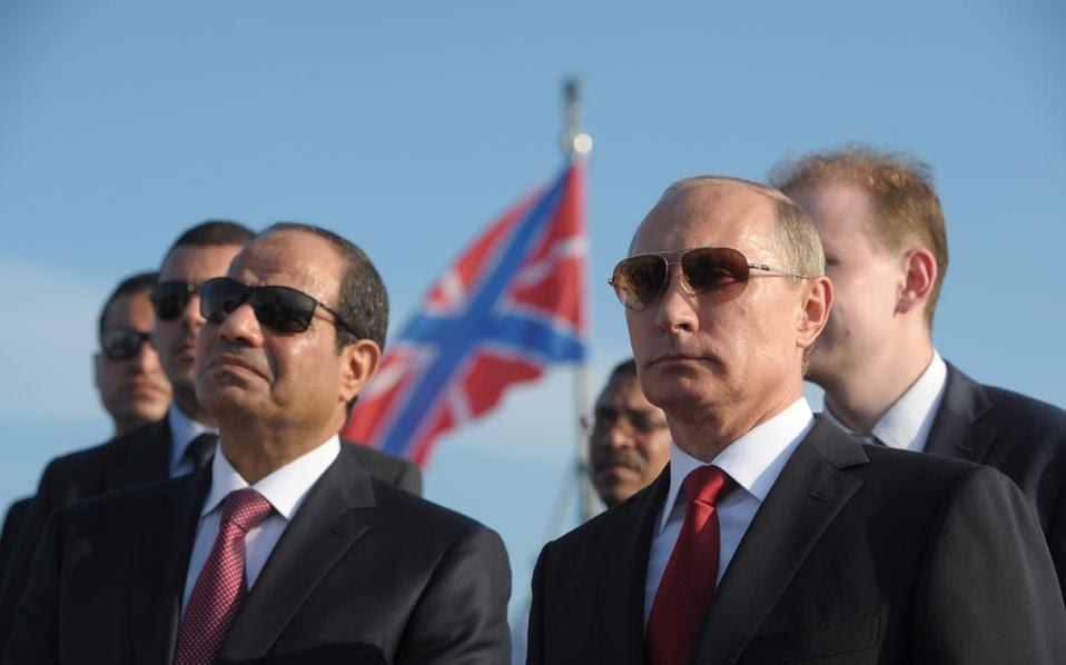 Ρωσία και Αίγυπτος: Σχέδιο για τη Συρία, σοκ για την Τουρκία