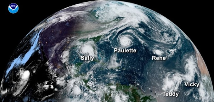 Climate change likely to cause more severe hurricanes, report suggests