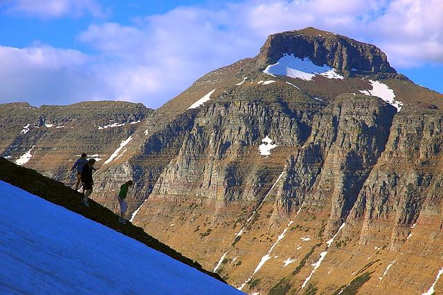 IMG_0421 Down the Slope, Hidden Lake Trail, Glacier National Park