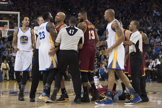"Who said the Cavs vs. Golden State joint wasn't a rivalry? ""What!!!!?"""
