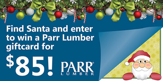 Operation: Find Santa Sweepstakes - 12 days of Christmas | Parr Lumber
