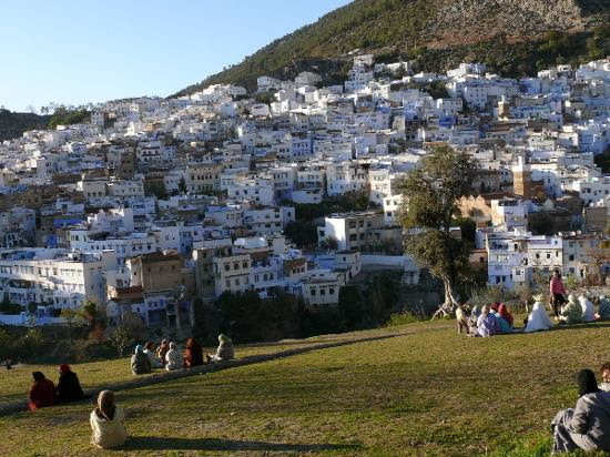 The old town of Chefchaouen