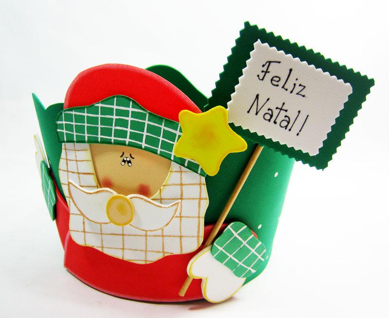 como fazer porta panetone eva presentar lembrancinha natal (5)
