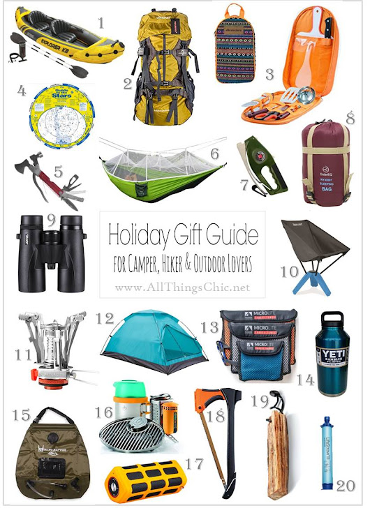 Gift Guide for the Outdoors Lover