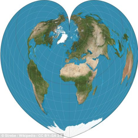 The Werner heart-shaped project of the world