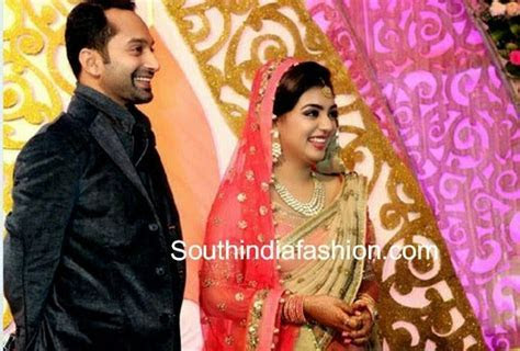 Nazriya Nazim and Fahad Fazil Wedding Reception ?South