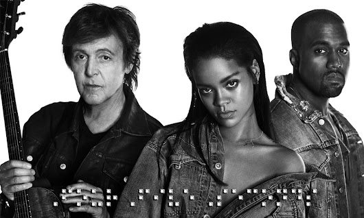 Rihanna - Four Five Seconds [Feat. Kanye West & Paul McCartney] (Full Song Free + Lyrics)