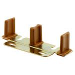 "Prime-line 161148 Nylon/steel Bypass Door Guide, 3-15/16"" Long X 7/8"" High"