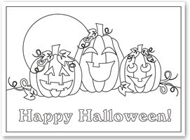 free printable coloring pages halloween 2015
