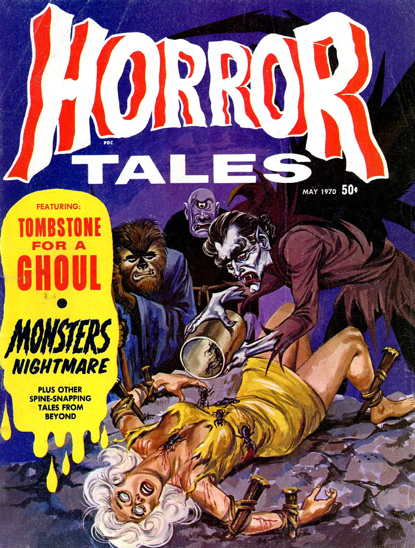 Horror Tales - Vol.2 #3 (Eerie Publications, 1970)