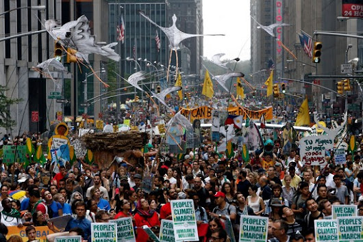 Hundreds of Thousands Attend Climate March