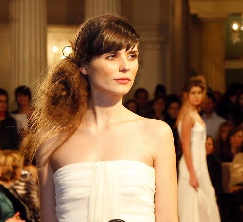 """Arantza Garcés, modelo en """"Sí, Carlton. Top Bodas 2012"""""""