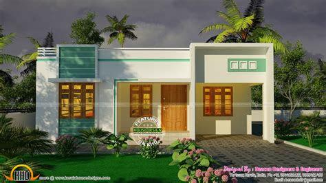 bedroom small budget house plan kerala home design floor