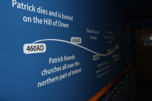 New Graphics Installation for Saint Patrick's Visitor Centre