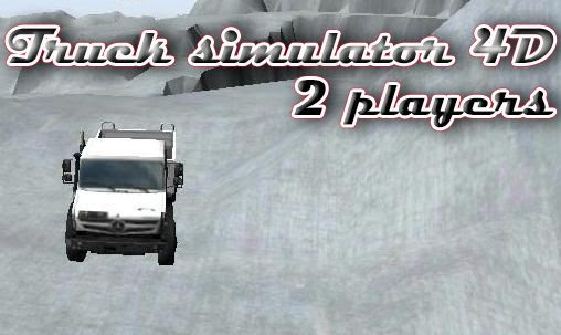 Screenshots of the Truck simulator 4D: 2 players for Android tablet, phone.