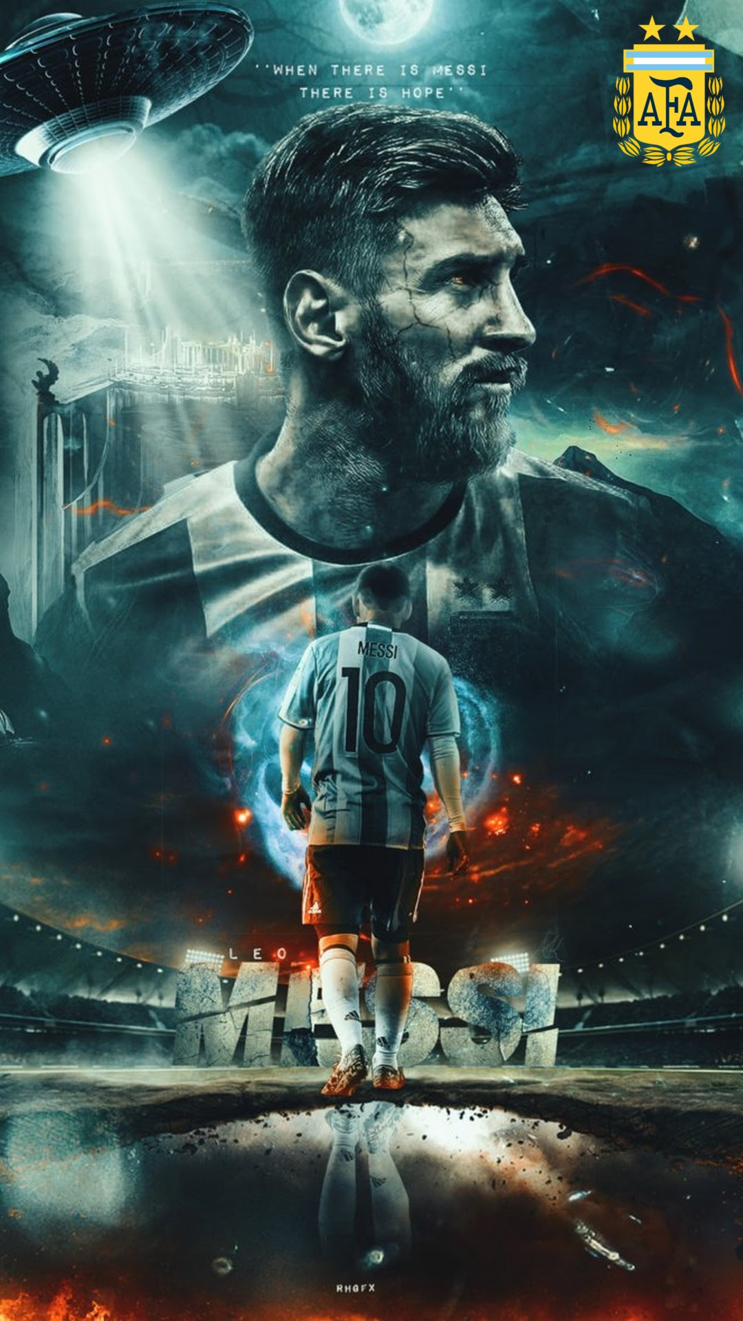 Mobile Wallpaper Messi Argentina   2019 Football Wallpaper