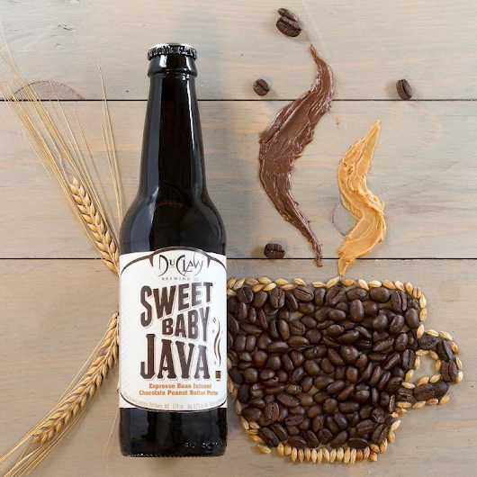 An espresso bean infused chocolate peanut butter porter: DuClaw Sweet Baby Java - Beer Street Journal