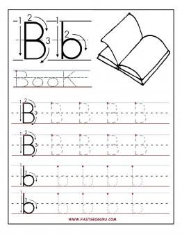 Printable Letter Tracing Worksheet - Scalien
