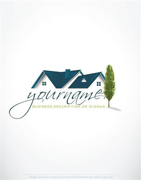 exclusive design real estate house logo compatible
