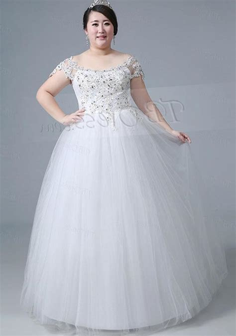 A line plus size wedding dresses   PlusLook.eu Collection