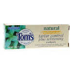Tom's Of Maine Toothpaste Tartar Control/Whitening Peppermint 5.5 Oz