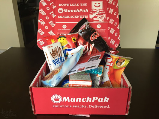 MunchPak Subscription Box Review ~ Snacks From Around the World