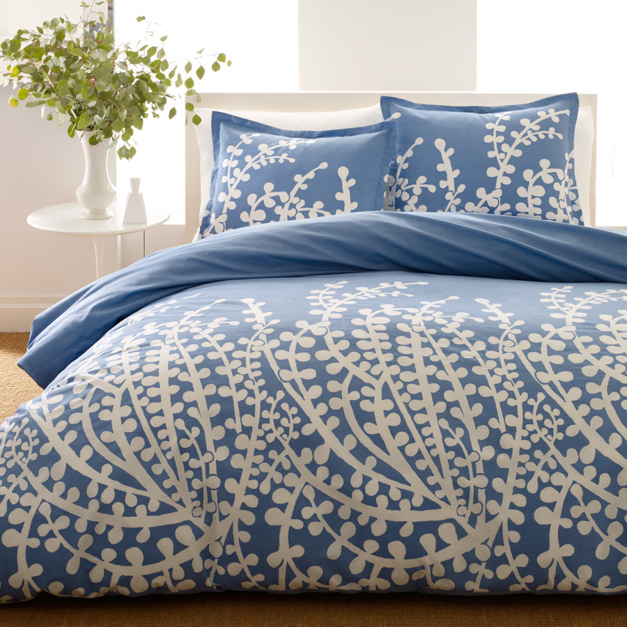 Shop City Scene French Blue Bedding Comforters & Duvets From ...