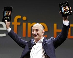 Amazon apresenta novo Kindle Fire (Foto: Reed Saxon/AP)