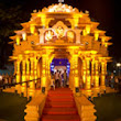 Lalbaug Ganesh Galli 2013 has built a replica of Somnath Temple Gujarat