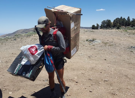 How One Man Removed 1,720 Pounds of Backcountry Trash