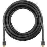 Dynex - 25' 4K Ultra HD HDMI Cable - Black