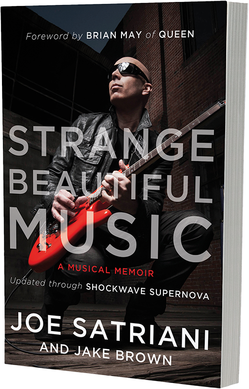 Joe Satriani - gear/merch > strange beautiful music: a musical memoir (paperback)