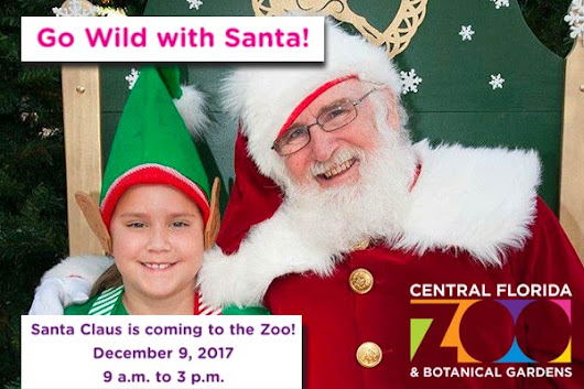 Go Wild with Santa! at Central Florida Zoo and Botanical Gardens - Heathrow Florida: Experience Seminole County in North Orlando