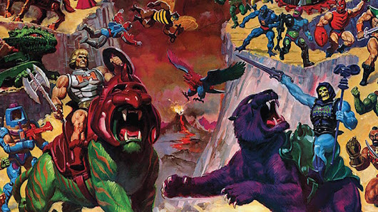 Take a Look Inside Dark Horse's New HE-MAN AND THE MASTERS OF THE UNIVERSE Guide Book | Nerdist