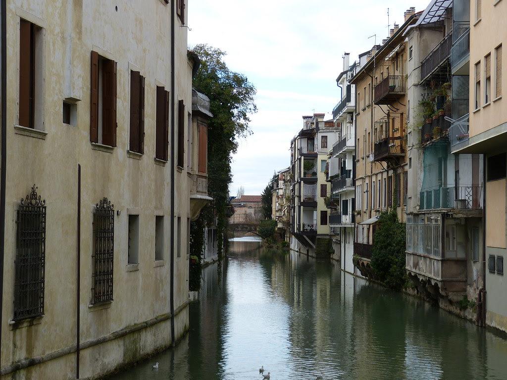 Canale Padova raddrizzato