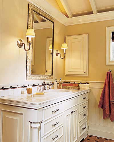 Going Ornate | Bath Lighting | This Old House
