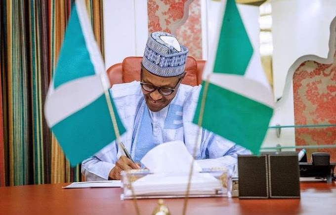 President Buhari has signed Appropriation Bill 2021 into Law
