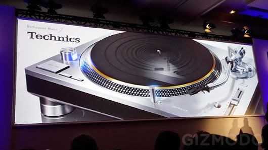 The Technics 1200 Turntable Is Back