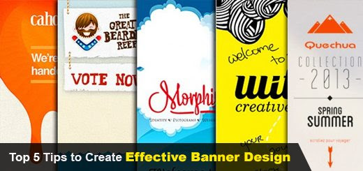 Top 5 Tips to Create Effective Banner Design